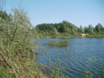 zdjęcie żwirowiska w miejscowości Poniaty- Cibory
