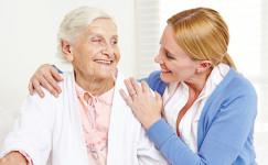 Zdjęcie Jesieni Wieku Opieka nad osobami starszymi.